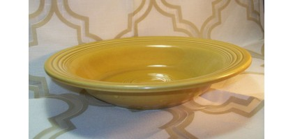 Fiesta Antique Gold Bowl Cereal Bowl Golden rod Vintage