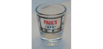 Shot Glass Pauls Bar