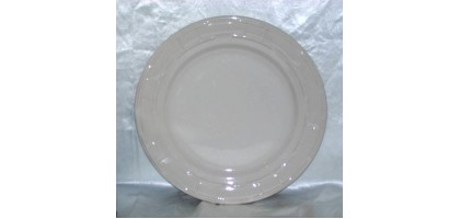 Longaberger Woven Traditions Ivory Dinner Plate  by Longaberger