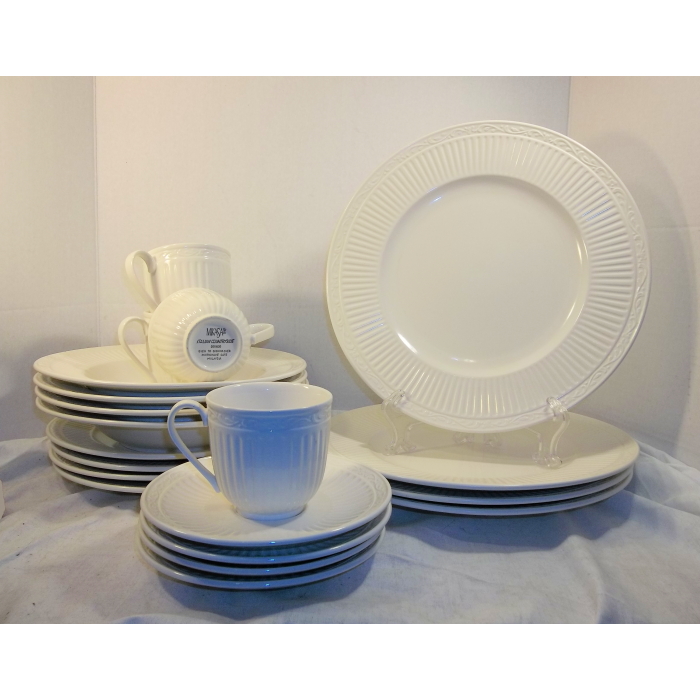 sc 1 st  The Little Used Store & Mikasa Italian Countryside 20 Piece Dinner Ware Set