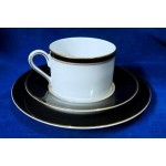 Mikasa Japan Grandeur Black Cup  LAD03 Porcelain China