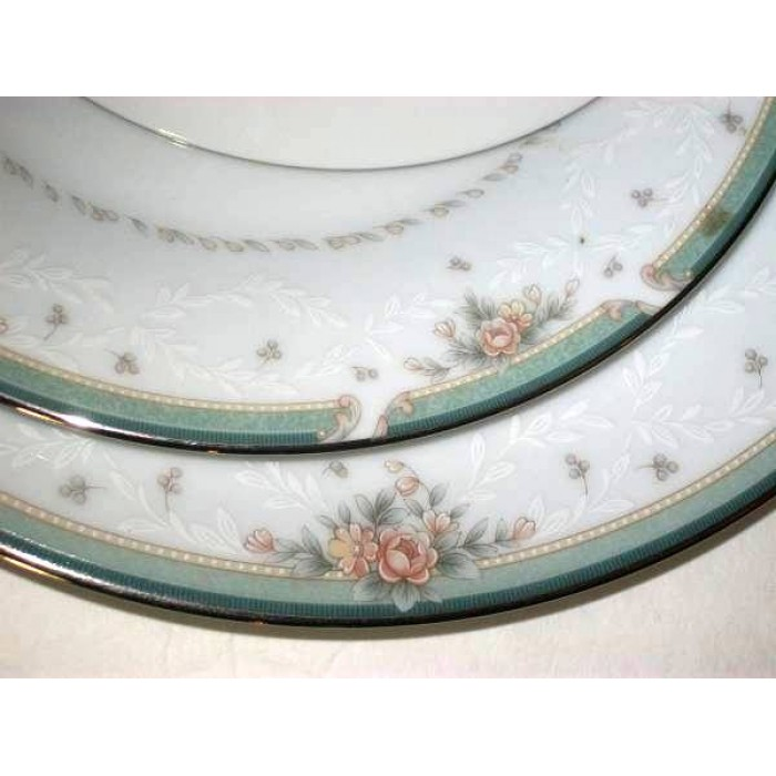 Noritake greenbrier fine china 4 peice set fandeluxe Images