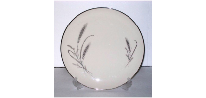 "Society Fine China Dinner Plate ""Harvest Time"" 10 & 3/4"" Porcelain china"