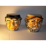 Tobi head Salt & Pepper Shakers Old Winking Men Sailers