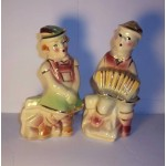 Vintage Shawnee swiss boy and girl salt and pepper shakers