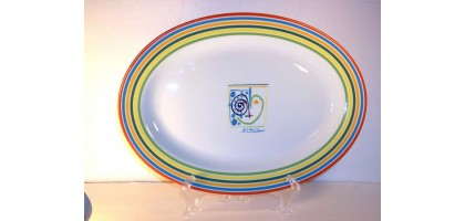 "Pablo Picasso Succession Serving Plate 13 3/4"" Licensed Officially"