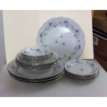 Johann Haviland set or lot 4 soup, 4 berry, 4 bread plates and 4 dinner plates