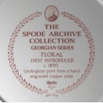 "The Spode Archive Collection Georgian Series ""Floral"""