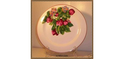 Jay Willfred Loucarte Strawberry Andrea by Sadek Dinner Plate