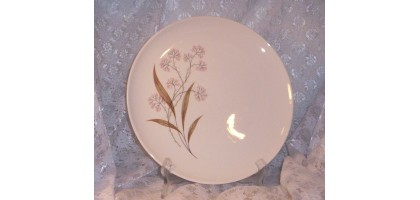 Carefree True China by Syracuse Windswept Dinner Plate Floral Porcelain