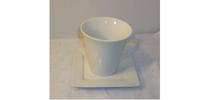 Ten Strawberry Street Nova Square cup and saucer set