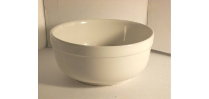 Culinary-Arts Cafeware White Soup or Cereal  Bowl