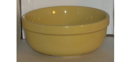 Culinary Arts Cafeware Yellow Soup or Cereal Bowl