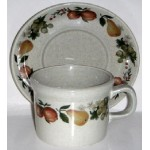 Wedgwood Quince Cup and Saucer