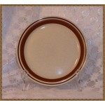Contemporary Chateau Hand Painted Dinner Plate Brown  ring