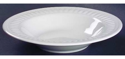 American AteLier White Soup or Cereal Bowl