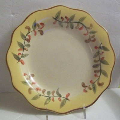 Better Home and Garden dinner plate TUSCAN RETREAT