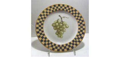 Block Country Orchard  by Gear 1995 salad plate