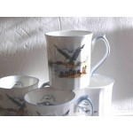 Elizabethan Hand Decorated Seagull Fine Bone China Cup or Mug mint