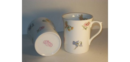 Heirloom fine bone china tea or coffee cup
