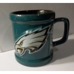 Philadelphia Eagles Cup 1999 Official NFLP Silver Seal Green with Black Inside