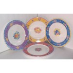 Disney Winnie The Pooh Bouquet Stoneware Dinner Plate (s) New