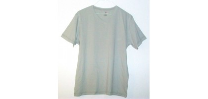 J Ferrar Shirt gray new Mens Tshirt Modern Fit Large V Neck