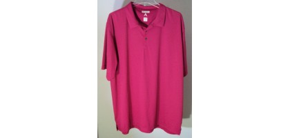 PINK Mens Golf T-shirt Anigua XXL