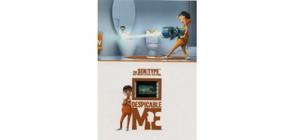 The Sen Type Hollywoods official Film Frame Despicable Me