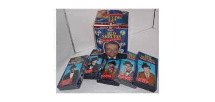 Red Skelton Laughter is the Best Medicine 5 VHS Collectors Series