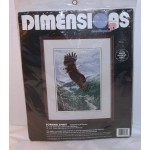 Dimensions Needlepoint Kit Soaring Spirit (Eagle) Al Agnew 2435 Vintage 1995
