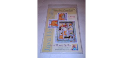 Java House Quilts Muchas Poochas -Labradors  Block 7 Pattern