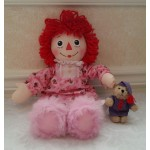Hasbro 2002 Bedtime Raggedy Ann, Slippers, Bear Night Clothes