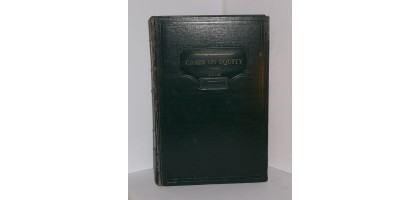 Cases and other authorities on equity American casebook series Hardcover – 1932