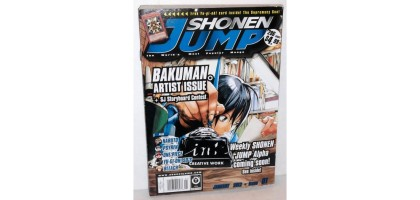 Shonen Jump Bakuman Artist Issue January 2012 Issue 01