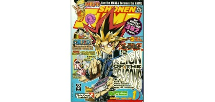 Shonen Jump Yu-gi-oh reign of the dragons Jan 2006 vol 4 issue 1