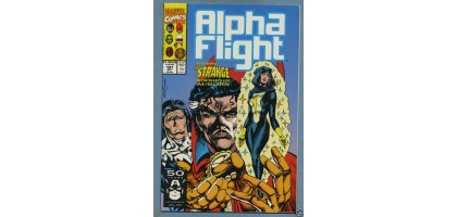 Alpha Flight 101 Oct Issue Dr. Strange