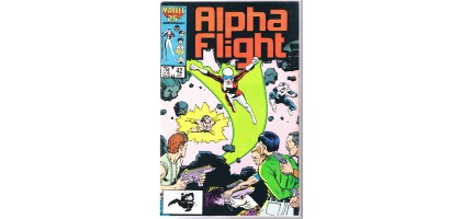 Alpha Flight 42 Jan Issue 25th Anniversary