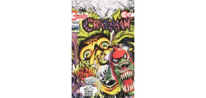 Crazyman #4 January 1993