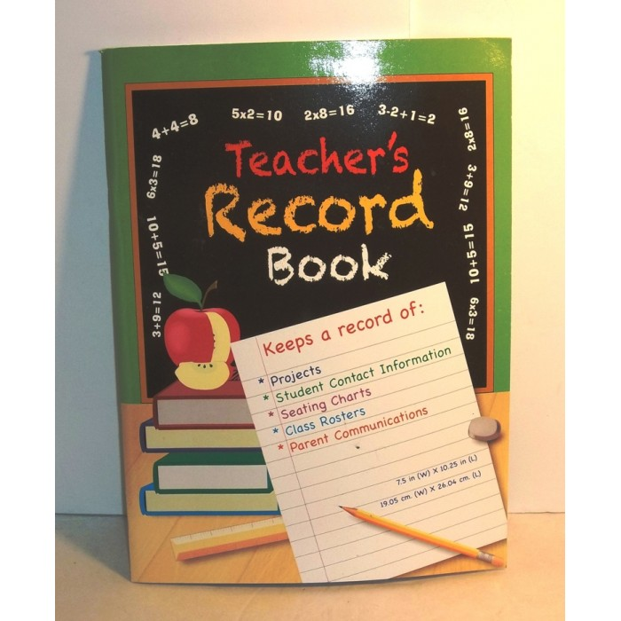 teachers record book