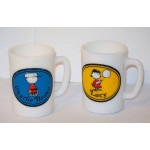 Peanuts Charlie Brown 1969 by Avon drinking cup