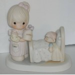 Precious moments figure make me a blessing Samuel J Butcher - so cute Enesco