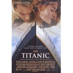 Titanic, movie poster O. S. Art 21 x 32 New