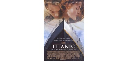 Titanic, movie poster O. S. Art 21 x 32