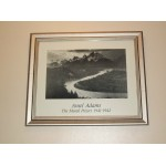 Ansel Adams the Mural Project Wood Framed Print