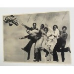 Commodores Poster 3 feet by 2 feet with printed signatures