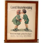Good Housekeeping 1926 Framed Print Magazine Cover Jesse Willcox Smith