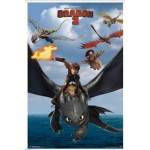 2013 HOW TO TRAIN YOUR DRAGON 2 POSTER