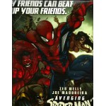 MARVEL Avenging Spider Man Poster w RED HULK San Diego Comic Con 2011