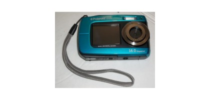 Polaroid Is045-blue-km 16mp Dual Screen Waterproof Digital Camera with 2.7-inch LCD (Blue)
